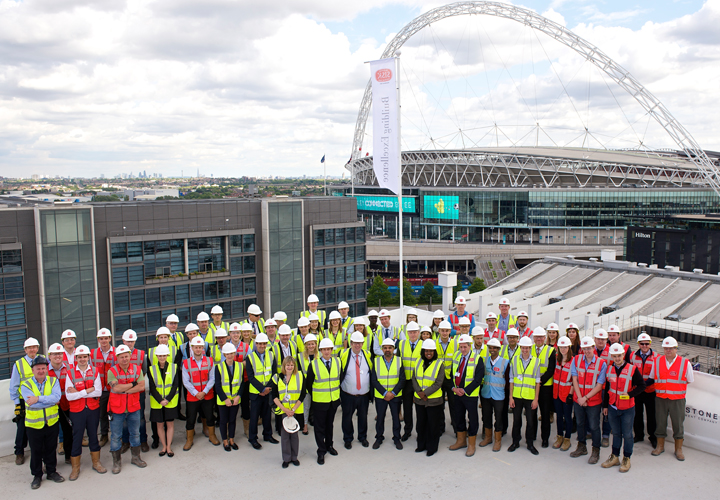 Topping Ceremony